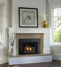 replacement gas fireplace fronts indoor gas black granite fireplace front replacement