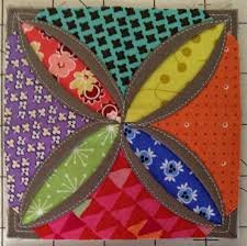 Diary of a Quilt Maven: Faux Cathedral Windows Pincushion Tutorial & Pic 18 Adamdwight.com