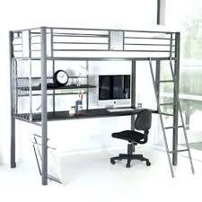 metal bunk bed with desk. Exellent Bunk Metal Bunk Beds With Desk Bed Kids Loft    For Metal Bunk Bed With Desk