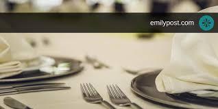 Table Setting Chart Table Setting Guides The Emily Post Institute Inc
