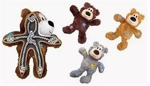 "<b>KONG игрушка</b> для мелких собак <b>WildKnots</b> ""Мишка"" плюш с ..."