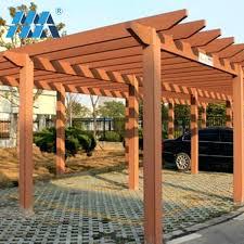 wood canopy outdoor garden wood pergola