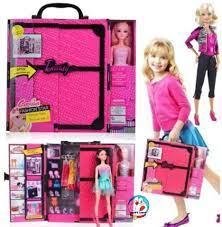 Báo giá Đồ chơi độc: Búp bê Barbie và tủ đồ 30 phụ kiện sành điệu chỉ  275.000₫