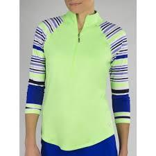 Jofit Womens Raglan Mock Honeydew Pullover