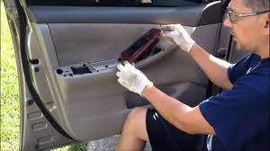 How to remove a door panel - 2005 Toyota Corolla - YouTube