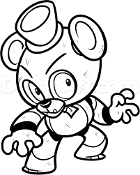 Coloring Fnaf Coloring Book Five Nights At Freddys Pages World