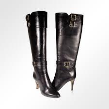 Designer Black Booties Jimmy Choo Boots Designer Shoes For Women Black Leather Jcw12