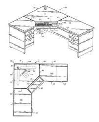 office desk sizes. modren desk corner desk measurements  home office pinterest desks wire management  and woodworking intended desk sizes