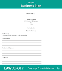 Easy Business Plan Template Free Download Sales Action Plan