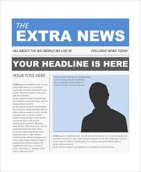 Sample Newspaper Front Page 5 Documents In Word Pdf Psd