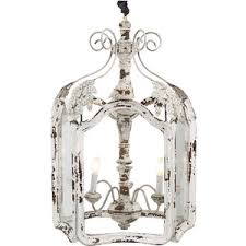 shabby chic lighting fixtures. amelie white wash shabby chic country lantern pendant lighting fixtures h