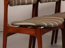 dining room side chairs side chairs living room beautiful mid century od 49 teak dining of