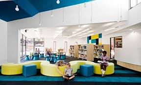 Interior Design Degree Schools Delectable Colorful School Interiors That Promote Both Group Work And Solo