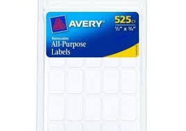 Avery 1 2 X 1 3 4 Label Template Avery 5967 1 2 Quot X 1 3 4 Quot