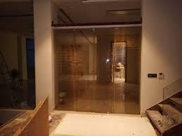 soft close telescopic sliding glass