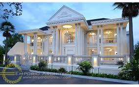 jasa arsitek desain rumah villa mewah