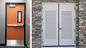 exterior door louvers metal. commercial hollow metal doors exterior door louvers