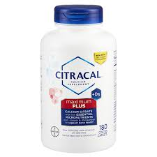 Citracal <b>Maximum</b>, <b>180</b> ct Bone & Calcium Supplement | Meijer ...