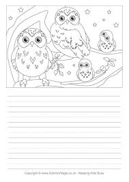 owl_story_paper_2_460_0 owl worksheets free worksheets library download and print on antecedent worksheets