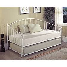 metal daybed. Brilliant Metal Kings Brand White Metal Twin Size Day Bed Daybed Frame With Slats Daybed I