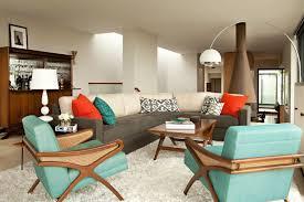 Excellent Contemporary Living Room Ideas For Retro Interior Design  Inspiration With Modern Gray Sofa Modern Table