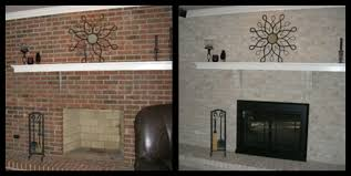 full wall brick fireplace makeover ideas image collections