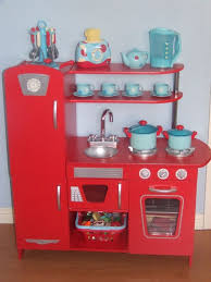 Red Retro Kitchen Accessories Kidcraft Retro Kitchen Red Lots Of Extras Inc A Range Of