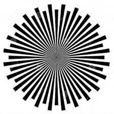 Hd Black White Abstract Psychedelic Art Background Vector