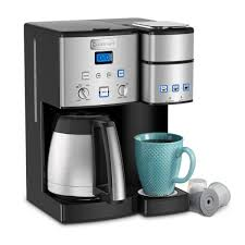 Most people are coffee lovers that cannot. Cuisinart Coffee Center 10 Cup Thermal Coffeemaker And Single Serve Brewer Ss 20 The Home Depot