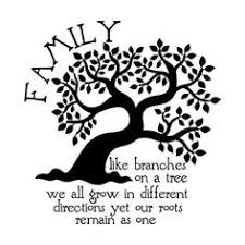 printable stencils of quotes on family tree branches