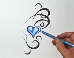 Small Picture Best 25 Heart tattoo designs ideas on Pinterest Key tattoo