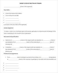 sample functional sales resume template free download functional sales resume