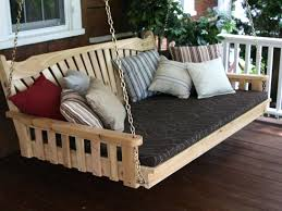 Size For Outdoor Swing Round Rattan Bed Outside Bench