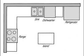 L Shaped Kitchen Floor Plans Island 300x200 5