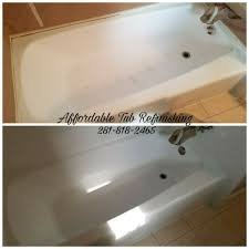 amazing bathtub repair tub refinishing in houston