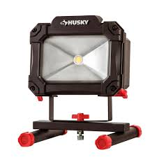 husky 1500 lumen rechargeable led work light