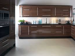 Walnut Kitchen Replacement Kitchen Doors In Apollo Walnut Gloss Ebay