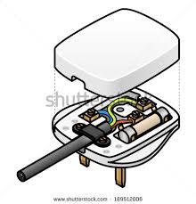 uk plug wiring diagram uk image wiring diagram exploded diagram uk mains ac plug stock vector 189512006 on uk plug wiring diagram