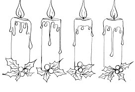 Small Picture Advent Coloring Pages At creativemoveme