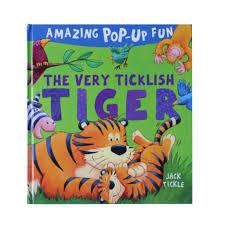 bolehdeals early childhood education kids story book 3d pop up books hardcover tiger