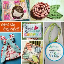 57 best Quilted Name Tags images on Pinterest | Stitching, Badges ... & Quilted name tags Adamdwight.com
