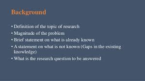 importance research paper unit of measurement