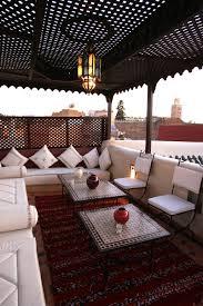 Une terrasse  la marocaine. Moroccan DesignMoroccan StyleMoroccan DecorMarrakech  ...
