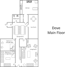 floor plan main level dove