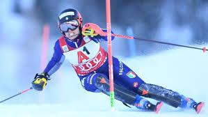 Alpine skiing: Italian Federica Brignone in the lead after ...
