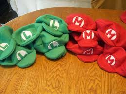 household how to tutorial making mario bros hats