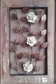 iron limestone paper towel holder hora de decorarquadro em madeira de demoliaao com ferro