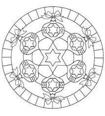 Mandaladinataledacolorare Mandalas Natale Mandala E