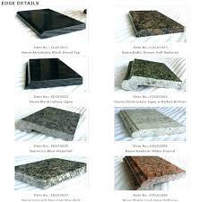laminate countertops edging