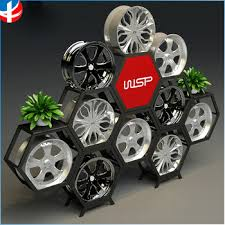Alloy Wheel Display Stand Tire Display Rack Wheel Display Stand Hub Display Cube Buy Tire 1